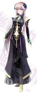 Rating: Safe Score: 17 Tags: dress headphones heels megurine_luka okingjo vocaloid User: Artorius