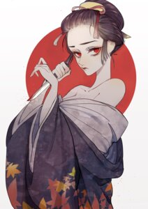 Rating: Safe Score: 7 Tags: blood kimono remon weapon User: NotRadioactiveHonest