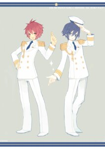 Rating: Safe Score: 3 Tags: ichinose_tokiya ittoki_otoya kashiwaba_hisano male uniform uta_no_prince_sama User: Nekotsúh