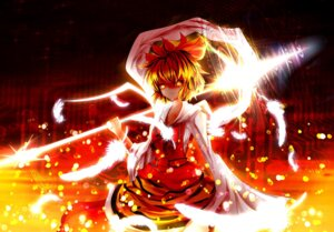 Rating: Safe Score: 19 Tags: toramaru_shou touhou weapon User: Humanpinka