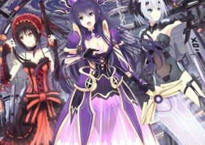 Rating: Safe Score: 33 Tags: armor bodysuit date_a_live gothic_lolita gun heterochromia lolita_fashion riki-to sword tobiichi_origami tokisaki_kurumi yatogami_tooka User: sylver650