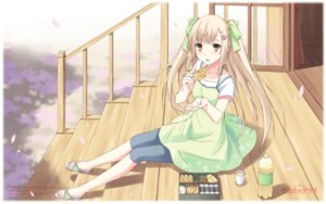 Rating: Safe Score: 30 Tags: dress giga hinata_terrace mikaze_takashi summer_dress wallpaper User: blooregardo