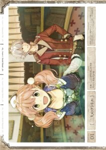Rating: Safe Score: 4 Tags: atelier atelier_escha_&_logy digital_version escha_malier hidari jpeg_artifacts logix_ficsario User: Shuumatsu