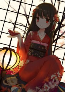 Rating: Safe Score: 55 Tags: japanese_clothes kimono yon_(letter) User: Injection