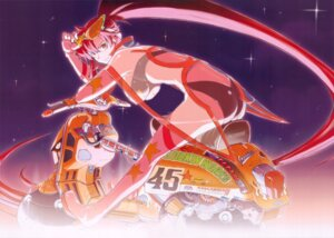 Rating: Safe Score: 24 Tags: ass heels koyama_shigeto screening tengen_toppa_gurren_lagann yoko User: Radioactive