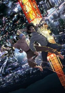 Rating: Safe Score: 8 Tags: digital_version inuyashiki_last_hero male torn_clothes User: blooregardo