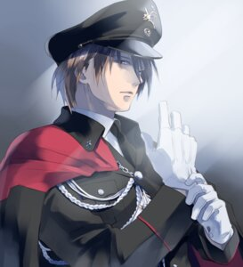 Rating: Safe Score: 9 Tags: get_backers kakei_juubei male papillon10 uniform User: mash