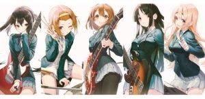 Rating: Safe Score: 39 Tags: akiyama_mio guitar hirasawa_yui k-on! kotobuki_tsumugi nakano_azusa pantyhose pro-p seifuku skirt_lift tainaka_ritsu User: Dreista