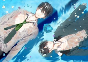 Rating: Safe Score: 8 Tags: free! hana_bell_forest high_speed! male nanase_haruka seifuku User: kunkakun