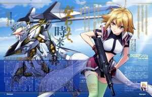 Rating: Safe Score: 26 Tags: angelise_ikaruga_misurugi cross_ange gun mecha sunaga_raita suzuki_tatsuya thighhighs uniform vilkis_(cross_ange) User: drop