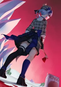Rating: Safe Score: 10 Tags: blood carolrin hololive hoshimachi_suisei thighhighs weapon User: Mr_GT