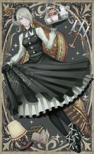 Rating: Safe Score: 21 Tags: dangan-ronpa dangan-ronpa_v3 heels maid skirt_lift toujou_kirumi xino User: Mr_GT