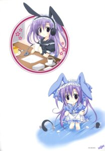 Rating: Safe Score: 13 Tags: chibi headphones korie_riko User: fireattack