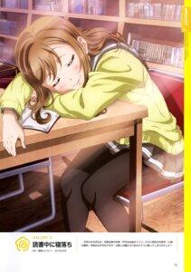 Rating: Safe Score: 20 Tags: kunikida_hanamaru love_live!_sunshine!! nagatomi_kouji pantyhose seifuku sweater User: drop