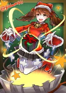 Rating: Safe Score: 16 Tags: christmas kantai_collection pantyhose ryuujou_(kancolle) tail toshi_gahara User: Mr_GT