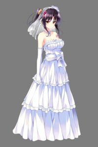 Rating: Safe Score: 85 Tags: cleavage dress ensemble_(company) golden_marriage hayakawa_harui shimakage_ruri transparent_png wedding_dress User: charunetra