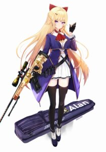 Rating: Questionable Score: 28 Tags: dyolf gun thighhighs uniform User: sym455
