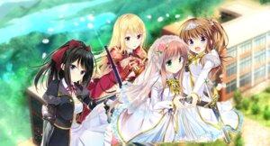 Rating: Safe Score: 25 Tags: armor ensemble_sweet otome_kishi_ima_sugu_watashi_wo_dakishimete seifuku sword tagme trap User: Veshurik