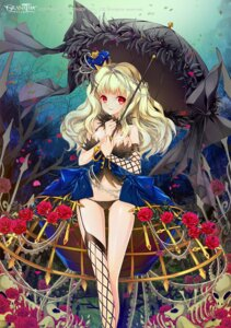 Rating: Questionable Score: 54 Tags: cleavage dress fishnets granatha_eternal juna pantsu stockings thighhighs tnsoft umbrella User: blooregardo
