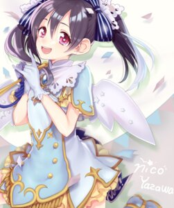 Rating: Safe Score: 25 Tags: dress etsuo love_live! wings yazawa_nico User: charunetra
