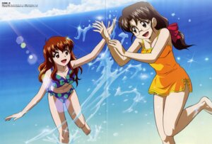 Rating: Safe Score: 10 Tags: bikini cleavage code-e crease ebihara_chinami kujou_sonomi megane ookubo_osamu swimsuits User: Radioactive
