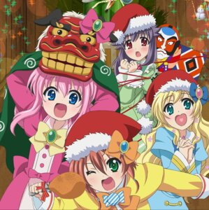 Rating: Safe Score: 15 Tags: bondage christmas cordelia_glauca disc_cover dress hercule_barton sherlock_shellingford tantei_kageki_milky_holmes_td tantei_opera_milky_holmes yuzurizaki_nero User: blooregardo