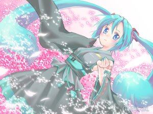Rating: Safe Score: 11 Tags: dobato hatsune_miku vocaloid wallpaper User: yumichi-sama