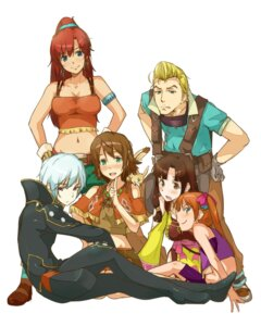 Rating: Safe Score: 34 Tags: amy_(gargantia) bellows bodysuit grace_(gargantia) ledo melty_(gargantia) pinion saaya_(gargantia) suisei_no_gargantia tokiwa_midori_(artist) User: animeprincess